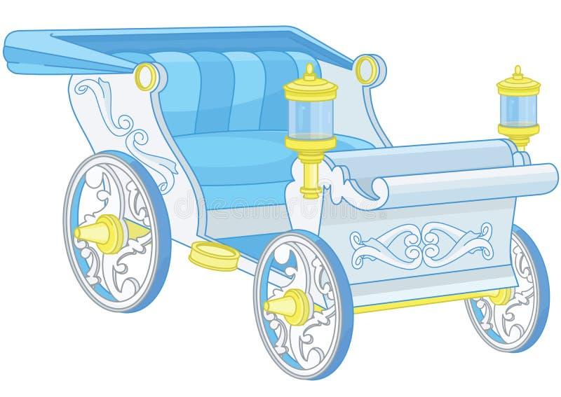 Princess fracht ilustracja wektor