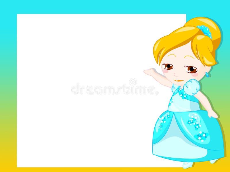Download Princess frame stock illustration. Illustration of isolated - 18053970