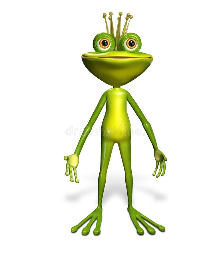 Download Princess Frog Stock Illustration - Image: 38915769