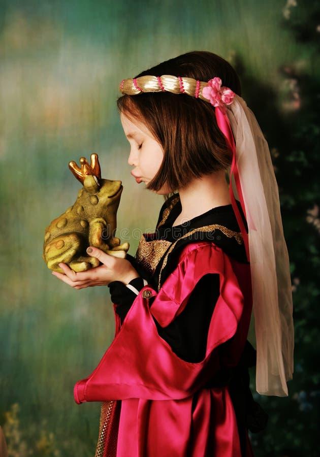 Princess And The Frog Prince Royalty Free Stock Photos