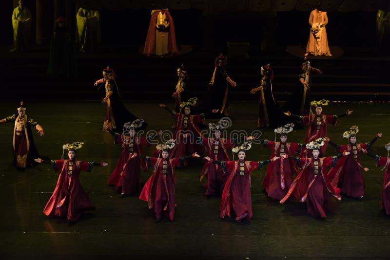 Princess Gege tana 2-Classical Dworski taniec obrazy royalty free