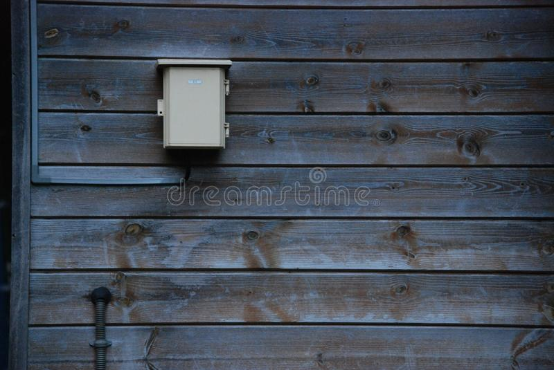 Box in the space royalty free stock photos