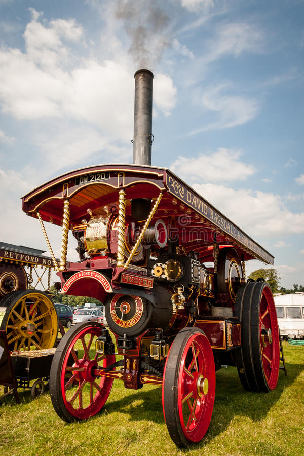 Free Princess Of Wales Traction Engine Royalty Free Stock Photo - 69838045