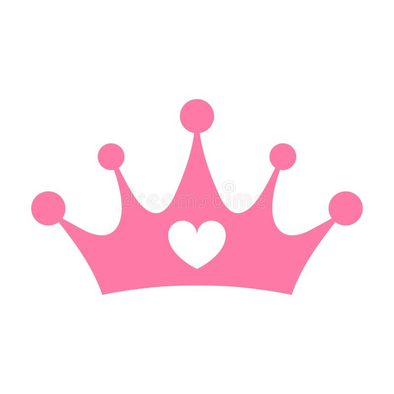 Free Princess Pink Crown Isolated - PNG Stock Photography - 104835182