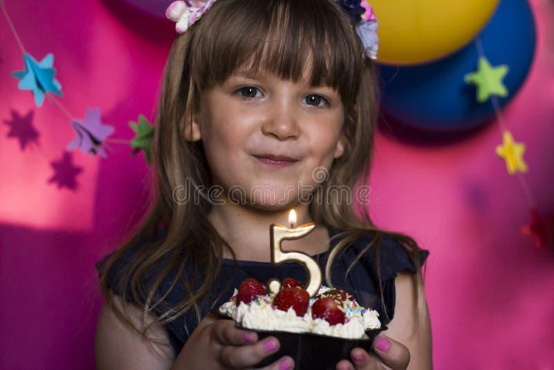 Princess przyjęcie urodzinowe Rocznica, szczęście, beztroski childh zdjęcie royalty free