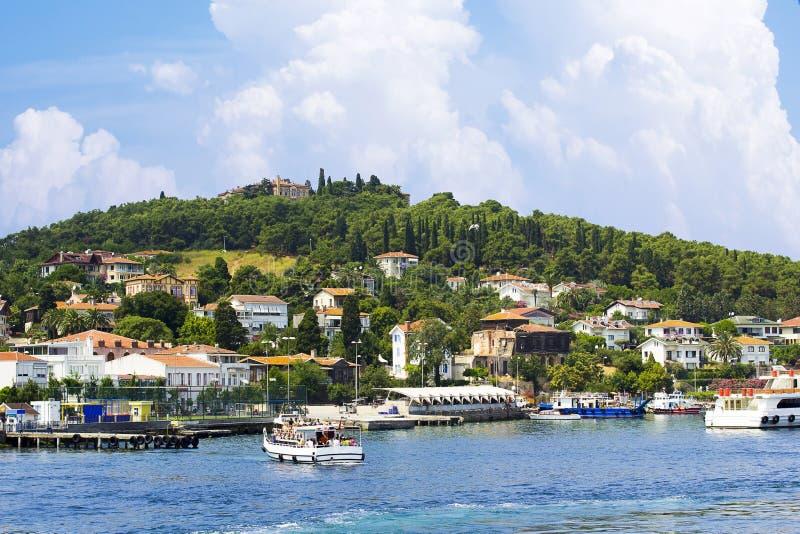 Princess wyspa w Marmara morzu, Turcja zdjęcia royalty free