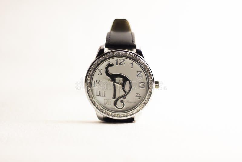 Princess zegarki z białym tłem obrazy stock
