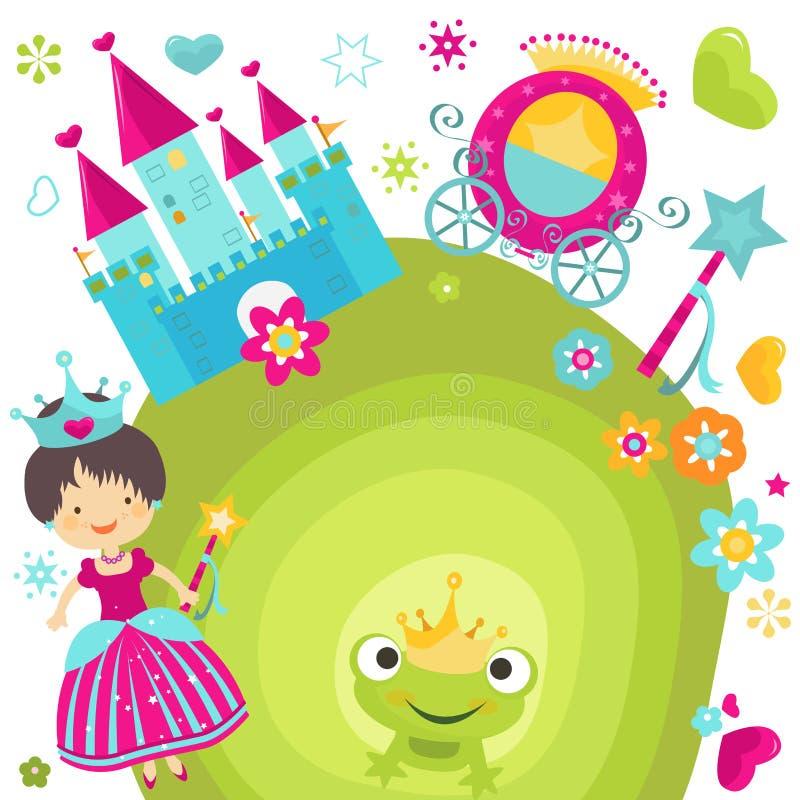 Princesse illustration stock