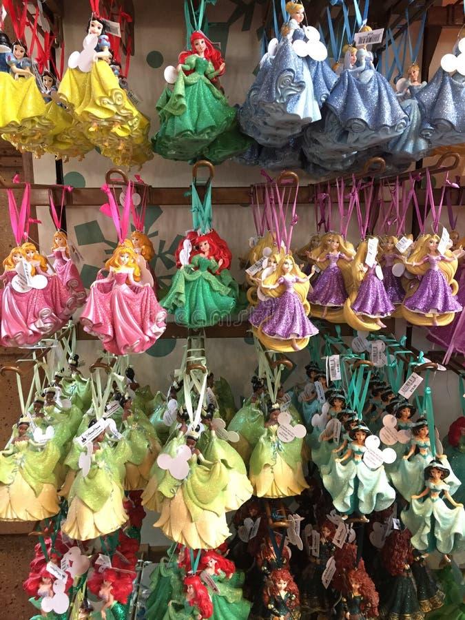 Princesse Christmas Ornaments image libre de droits