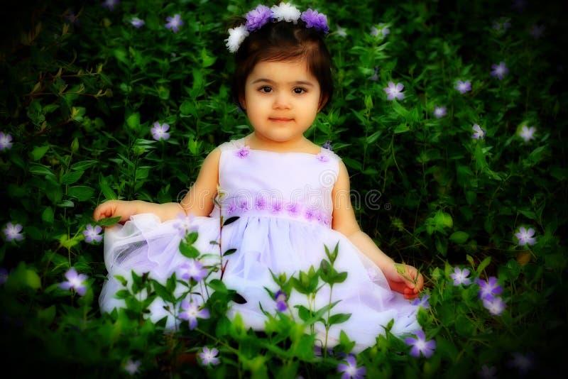Princesse de fleur images stock