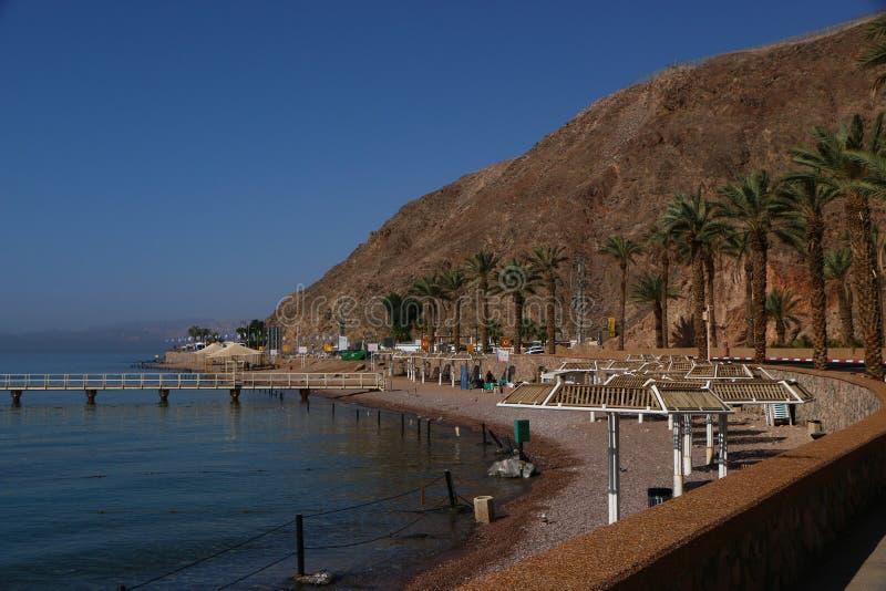 Princesse de plage de Zhe d'Eilat très gentille photo libre de droits