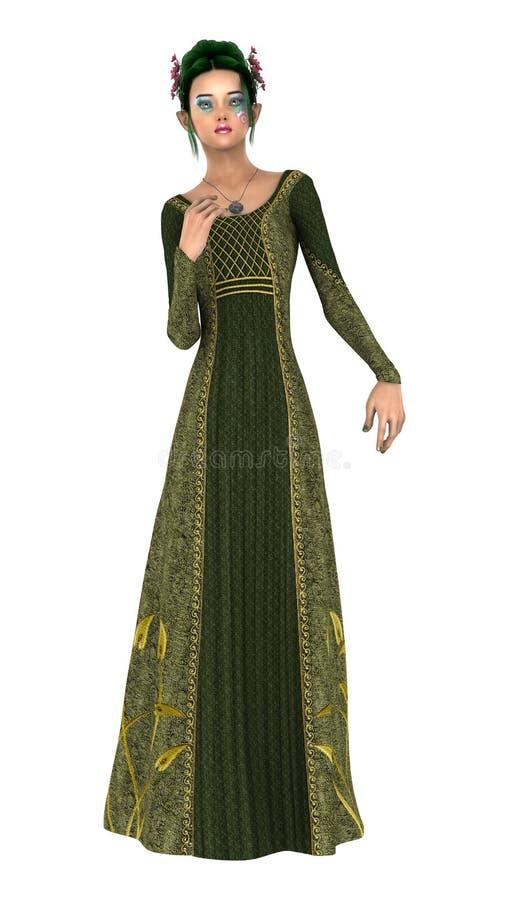 Download Princesse de ressort illustration stock. Illustration du princesse - 56484943