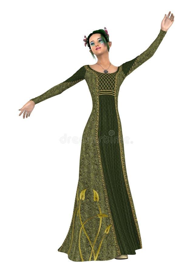 Download Princesse de ressort illustration stock. Illustration du nature - 56489002
