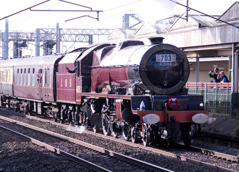 Princesse Elizabeth chez Carnforth, Lancashire, R-U photos stock