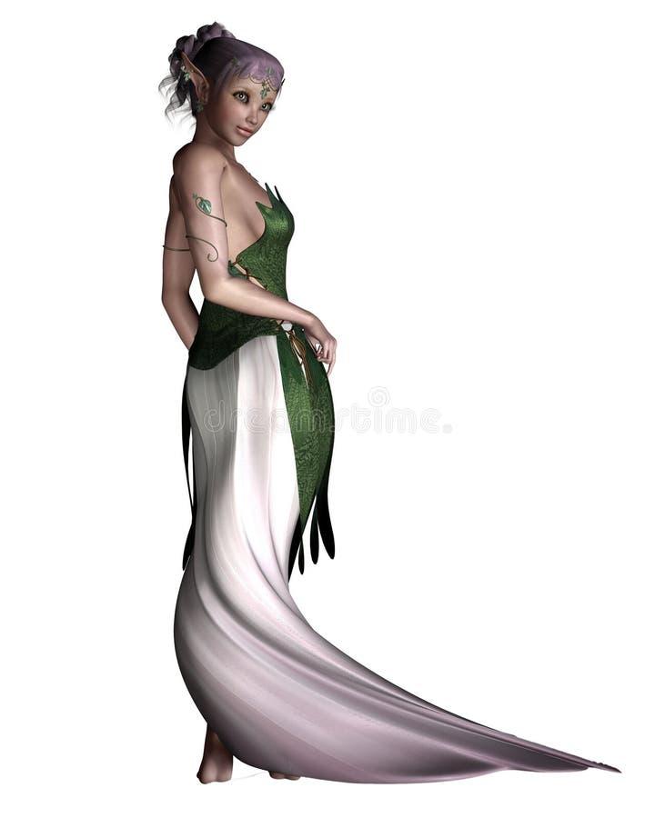 Princesse féerique illustration de vecteur