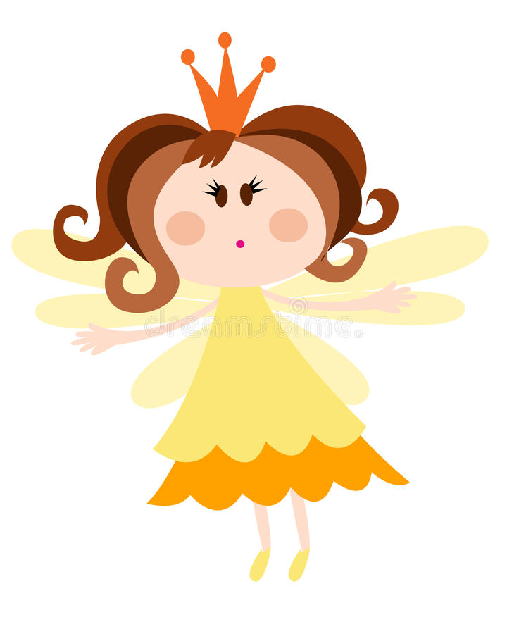 Princesse féerique illustration libre de droits