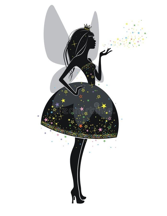 Princesse Fairy illustration de vecteur