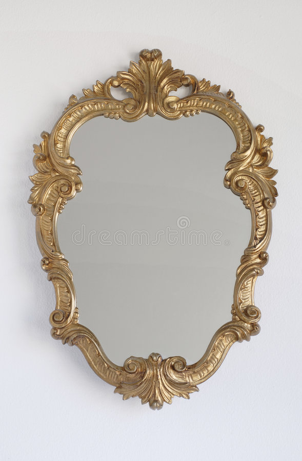 Princesse Mirror sur un mur photos libres de droits