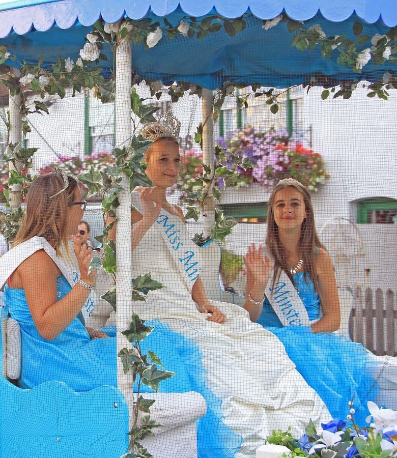 Princesses d'abbaye de Mlle images stock