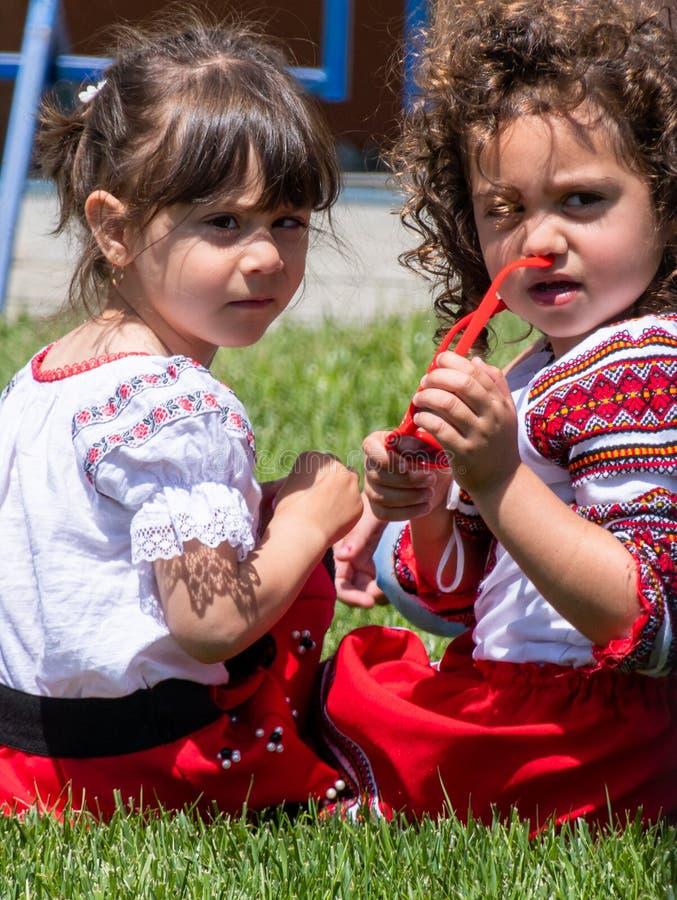 Princesses de folklore photographie stock libre de droits