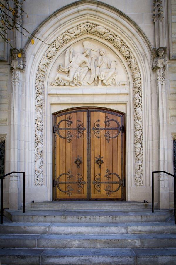 Princeton Drzwi zdjęcie stock