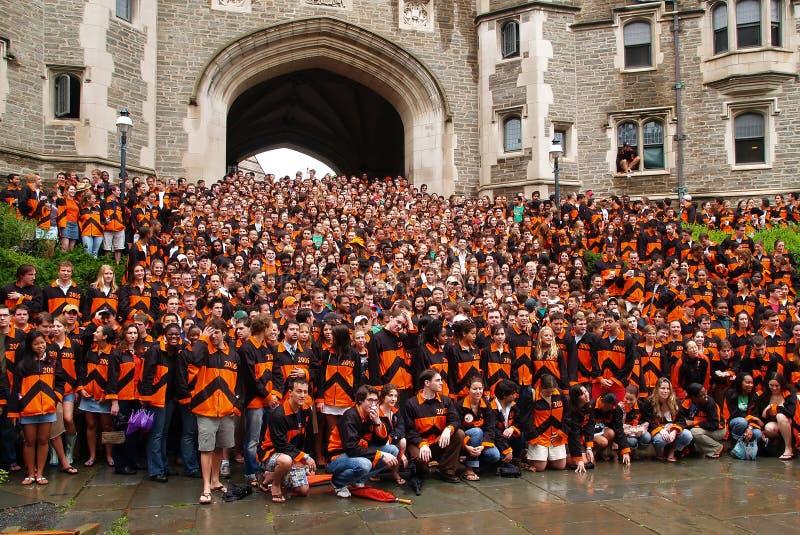 The Princeton Graduation Ceremony Editorial Image - Image of ...