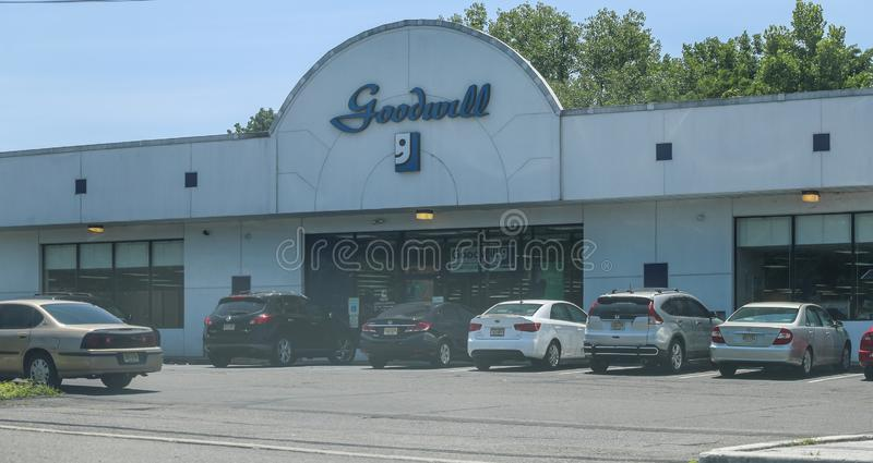 Goodwill Store front stock images