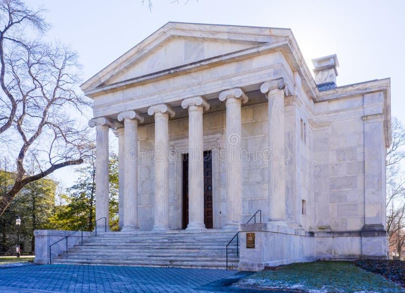 Princeton, Nowy Luty, 2019: - bydło - CLIO HALL fotografia stock