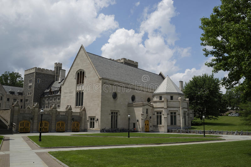 Princeton universitet, USA royaltyfri bild