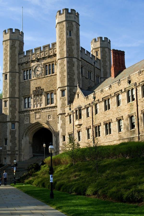 princeton universitetar royaltyfria bilder