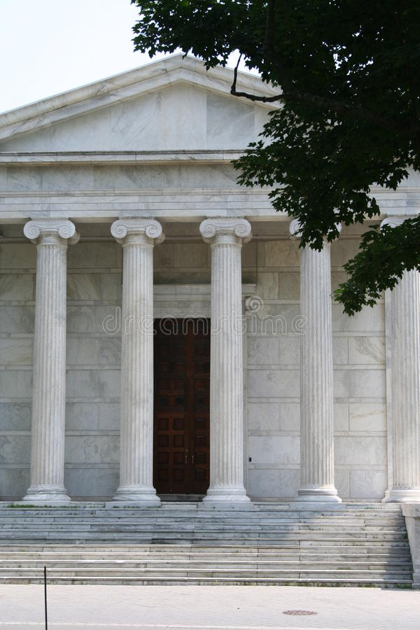 Princeton University. Generic Architecture with columns stock photography