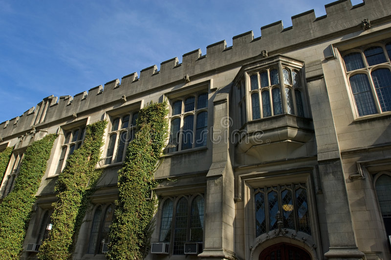 Princeton University. Campus building in spring, New Jersey stock photography