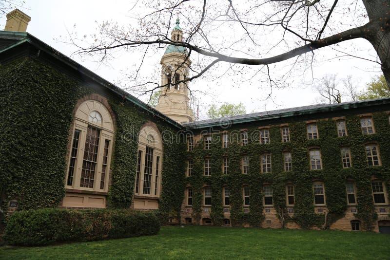 Princeton University. Buildings of Princeton University in New Jersey stock photography