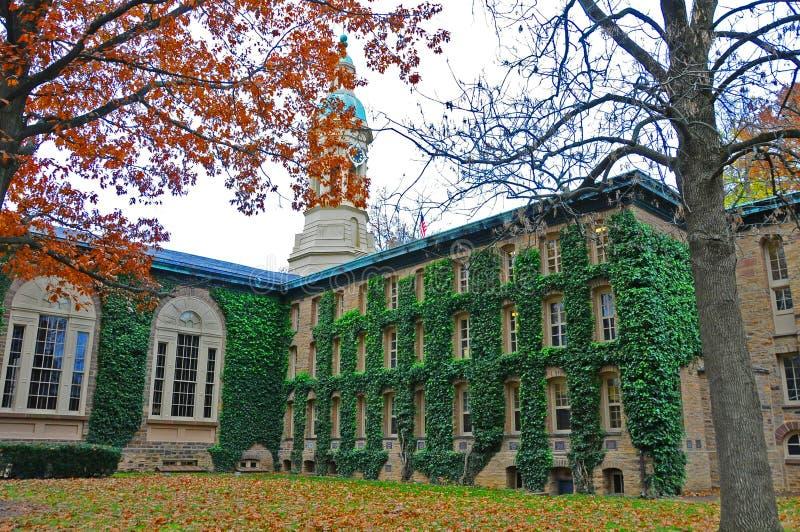 Princeton University is een Private Ivy League University in New Jersey, VS stock afbeelding