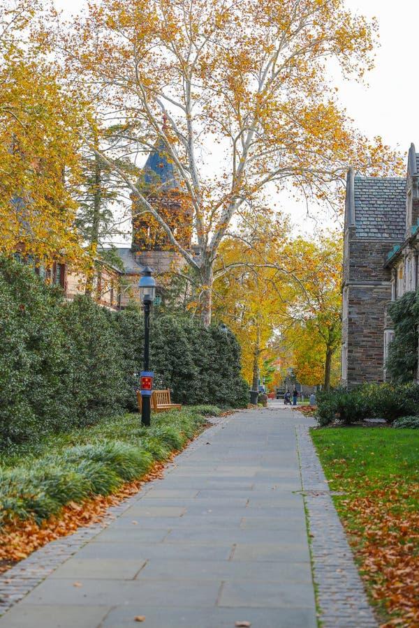 Princeton University is a Private Ivy League University in New Jersey, USA. Princeton, New Jersey - October 15, 2017: Princeton University is a Private Ivy stock image