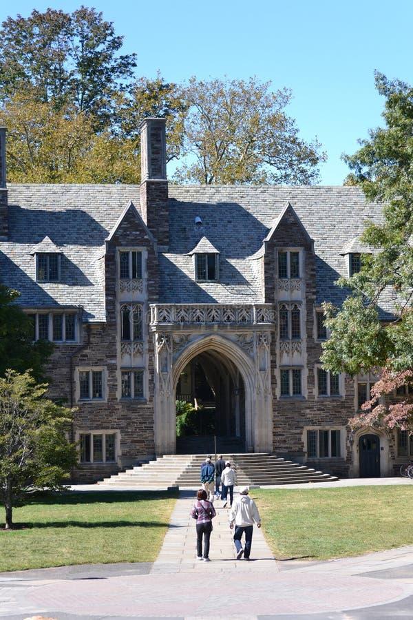 Princetonuniversiteit stock afbeeldingen