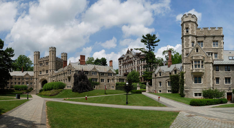 Princetonuniversiteit, de V.S. stock foto