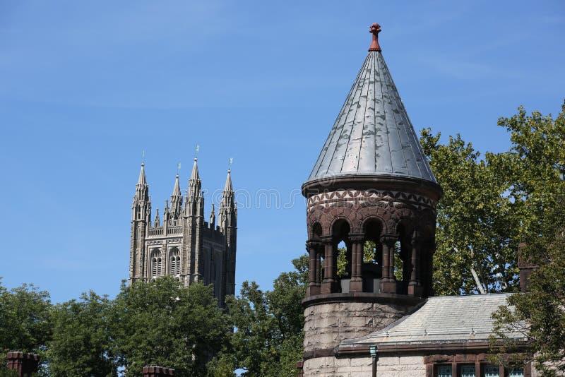 Princetonuniversiteit in New Jersey stock afbeeldingen
