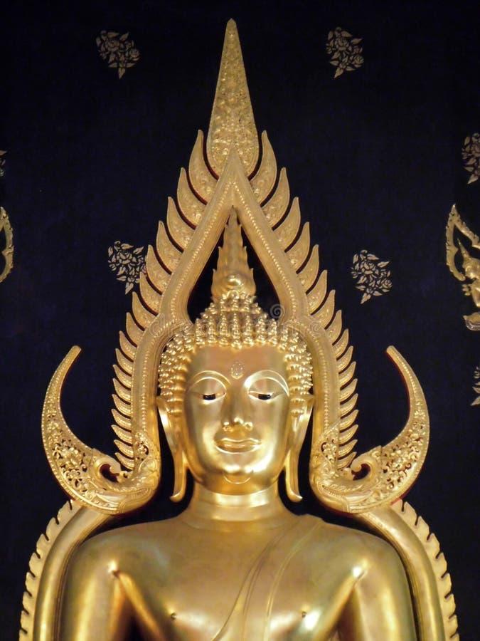 Principal Buddha of Wat Buddha Bucha stock photos