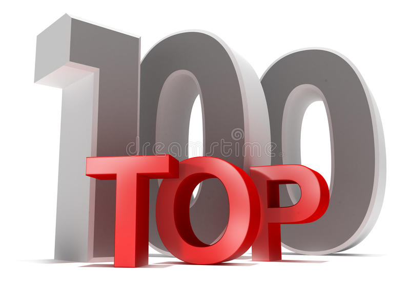 Principale 100 illustrazione vettoriale