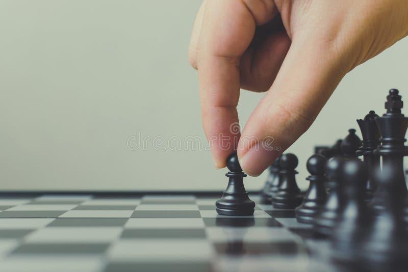 Principale stratégie de plan de concept réussi de chef de file des affaires, Han image libre de droits