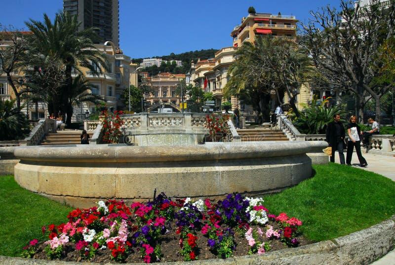 Principality av Monaco royaltyfri fotografi