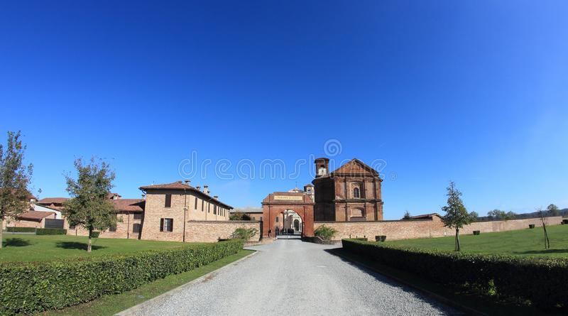 Principato Di Lucedio, Bercelli, Italië stock foto's