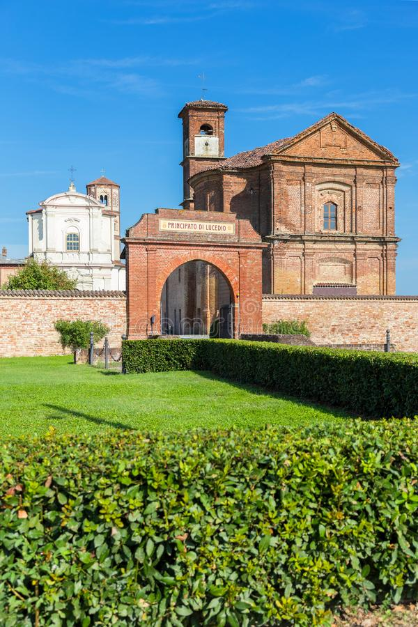 Principato Lucedio, верчелли, Италии стоковые фотографии rf