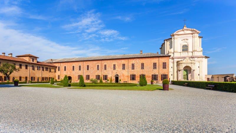 Principato van Lucedio, Bercelli, Italië stock fotografie