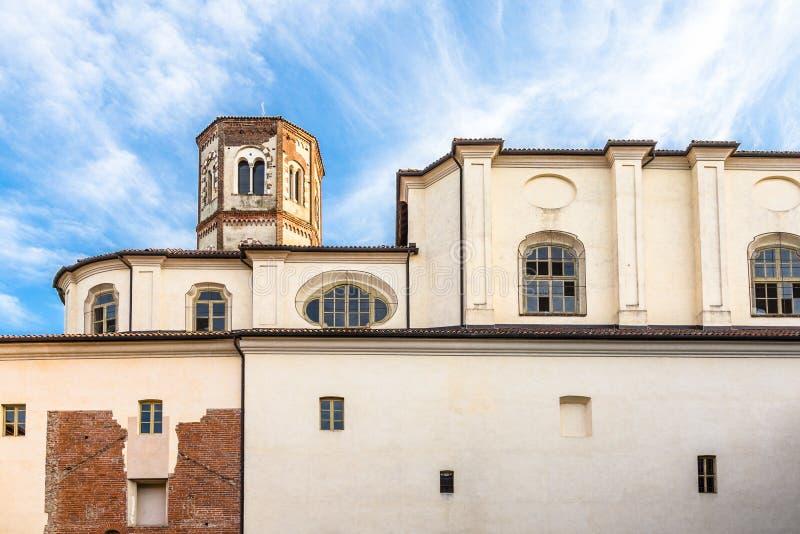 Principato van Lucedio, Bercelli, Italië royalty-vrije stock foto's