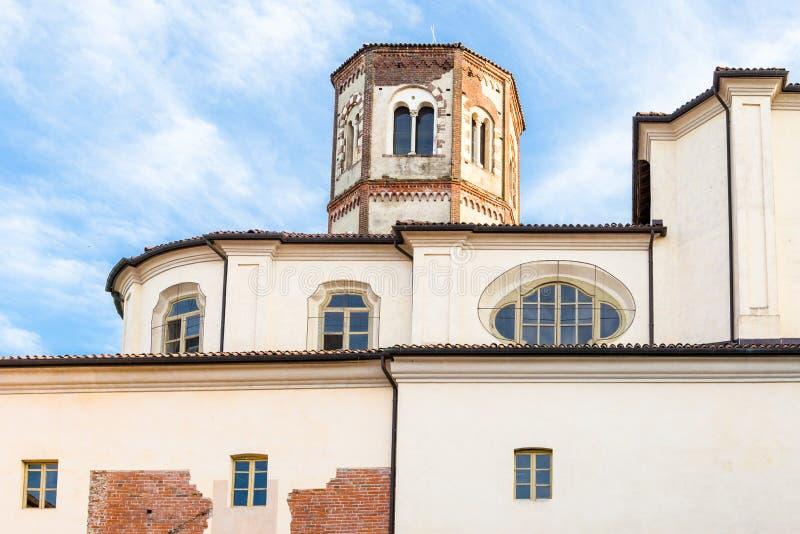 Principato van Lucedio, Bercelli, Italië royalty-vrije stock afbeelding