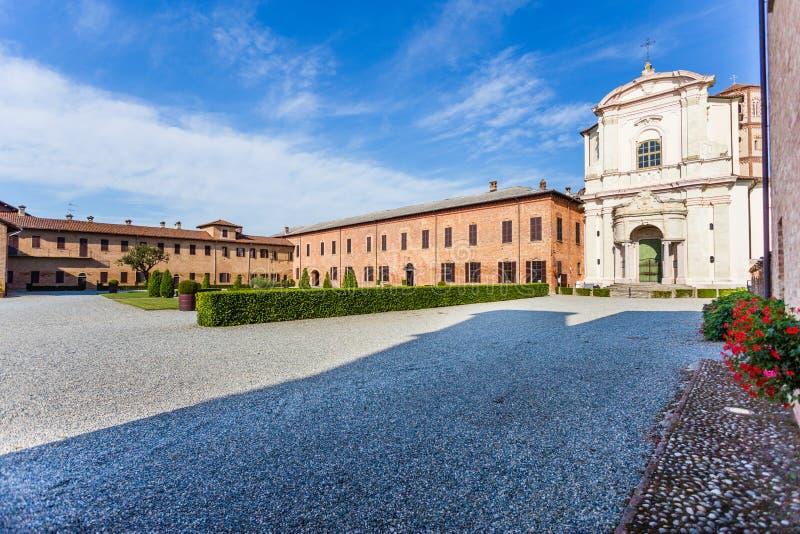 Principato van Lucedio, Bercelli, Italië royalty-vrije stock foto