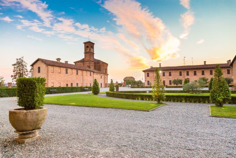 Principato van Lucedio, Bercelli, Italië royalty-vrije stock fotografie