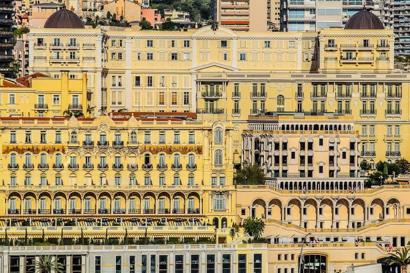 Principaute de Mónaco y de Monte Carlo fotos de archivo
